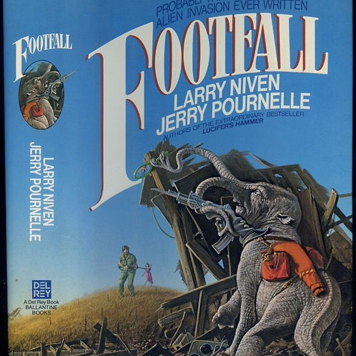 Footfall by Larry Niven and Jerry Pournelle (used)