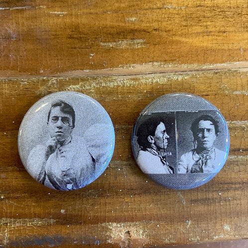Emma Goldman Button Set