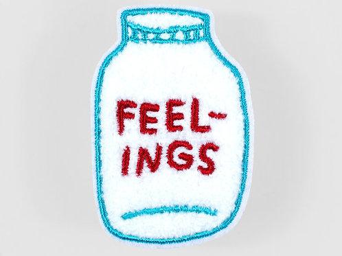 Bottled Up Feelings Patch