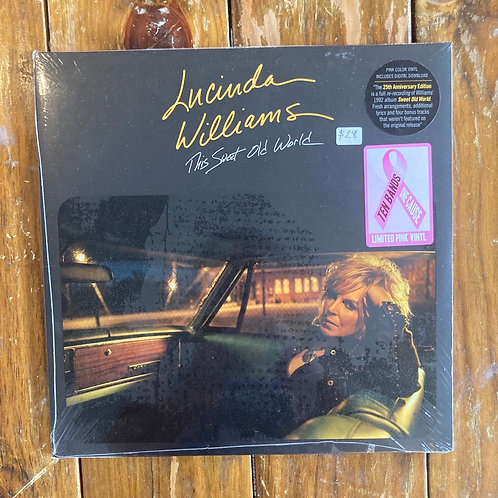 "Lucinda Williams, ""This Sweet Old World"" SEALED 25th Anniversary Pink Vinyl"