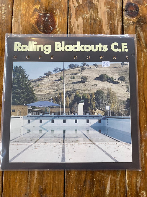 "Rolling Blackouts CF, ""Hope Downs"" USED"