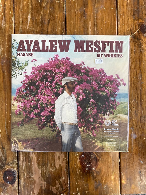 "Ayalew Mesfin, ""Hasabe- My Worries"" USED"