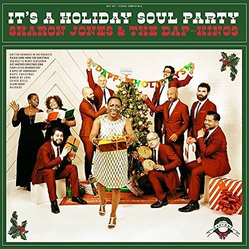 """Sharon Jones & the Dap Kings, """"It's a Holiday Soul Party"""""""