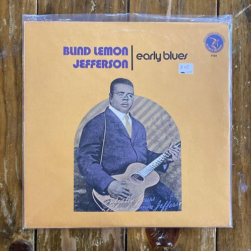 """Blind Lemon Jefferson, """"Early Blues"""" USED"""