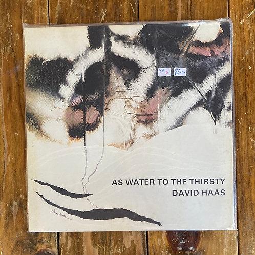 """David Haas, """"As Water"""" USED"""