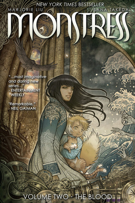 Monstress, Volume 2: The Blood by Marjorie Liu
