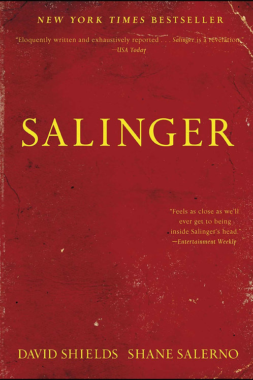 Salinger by David Shields and Shane Salerno (used)