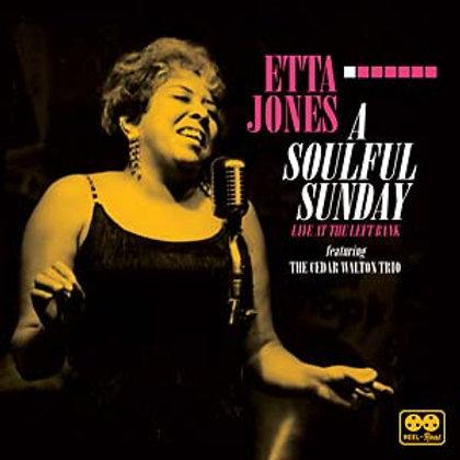 "Etta Jones, ""A Soulful Sunday: Live At The Left Bank Feat. Cedar Walton Trio"""