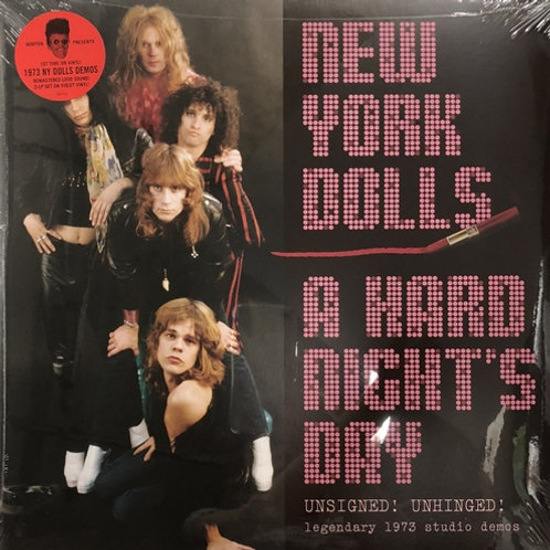 "New York Dolls, ""A Hard Night's Day"""