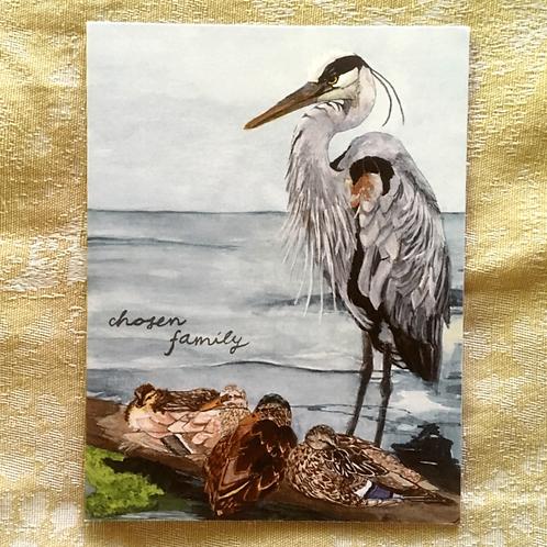 Chosen Family Card