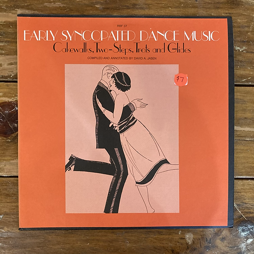 Early Syncopated Dance Music USED