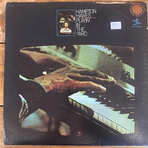 """Hampton Hawes, """"Playin' in the Yard"""" USED"""