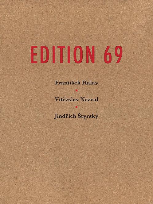 Edition 69 by Frantisek Halas, Vitezslav Nezval, Jindrich Styrskì
