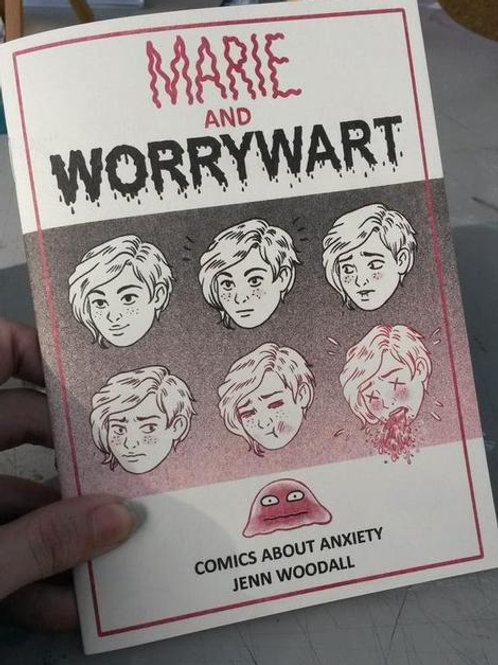 Marie and Worrywort by Jenn Woodall