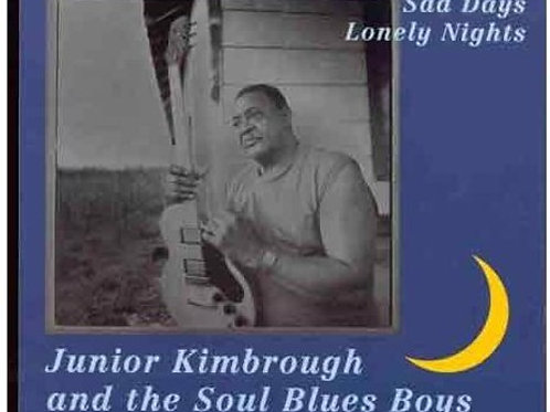 "Junior Kimbrough, ""Sad Days Lonely Nights"""