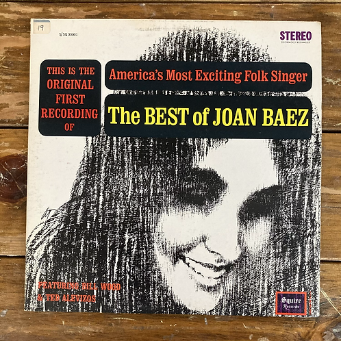 The Best of Joan Baez: America's Most Exciting Folk Singer USED