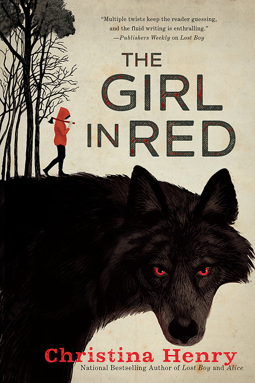 Girl in Red by Christina Henry (used)