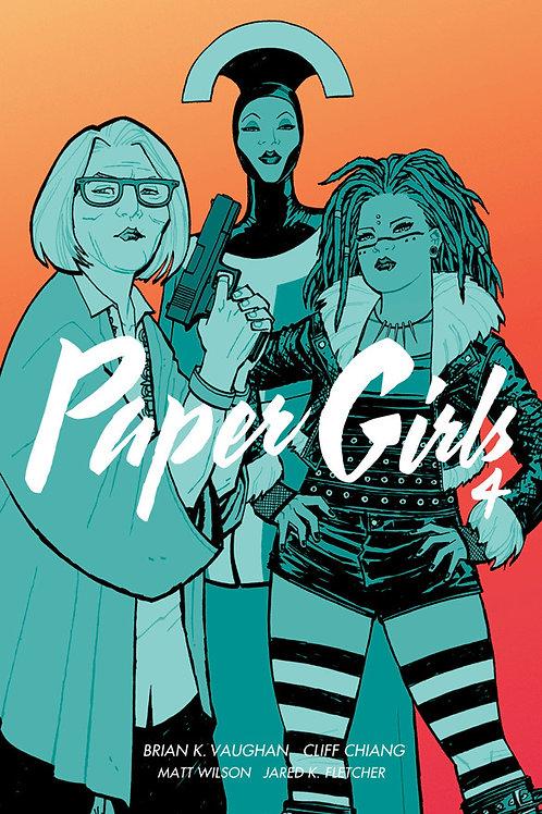 Paper Girls, Volume 4 by Brian K. Vaughan