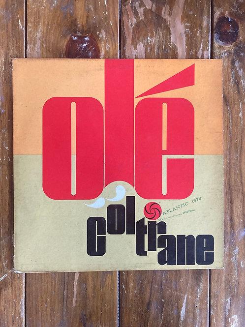 "John Coltrane, ""Ole Coltrane"" USED"