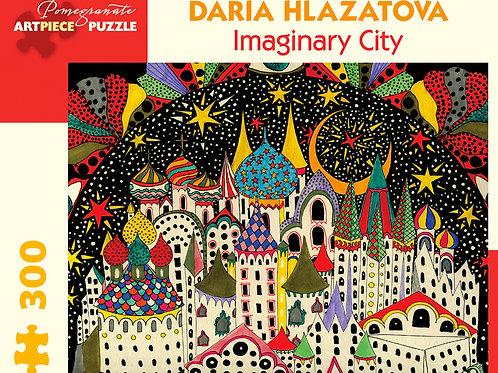 Daria Hlazatova: Imaginary City 300-Piece Jigsaw Puzzle