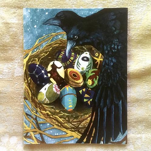 Crow Nest Card