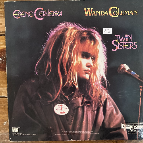"Exene Cervenka and Wanda Coleman, ""Twin Sisters"" USED"