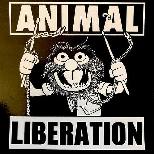 Animal Liberation sticker