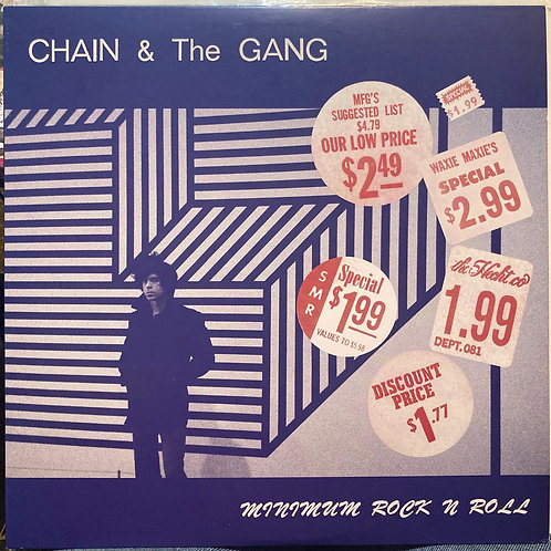 "Chain & the Gang, ""Minimum Rock N Roll""USED"