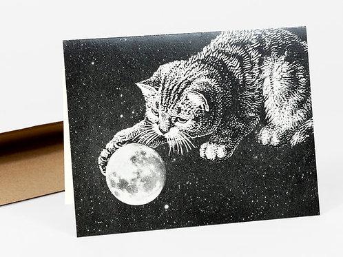 Moon Cat card