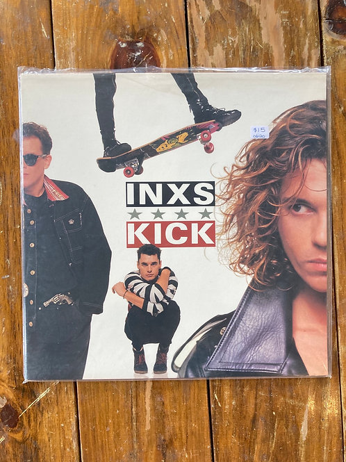 "INXS, ""Kick"" USED"