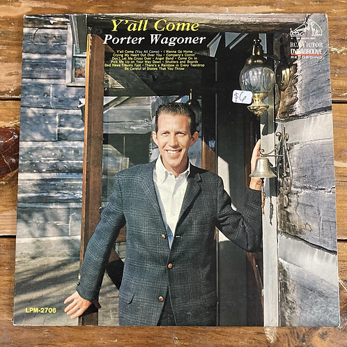 """Porter Wagoner, """"Y'all Come"""" USED"""