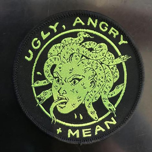 Ugly, Angry, and Mean Medusa Patch