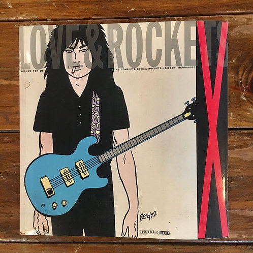 Love and Rockets X by Gilbert Hernandez (used)