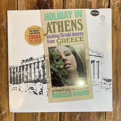 """Marcello Minerbi, """"Holiday in Athens: Exciting Sirtaki Dances from Greece"""" USED"""