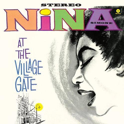"Nina Simone, ""At the Village Gate"""