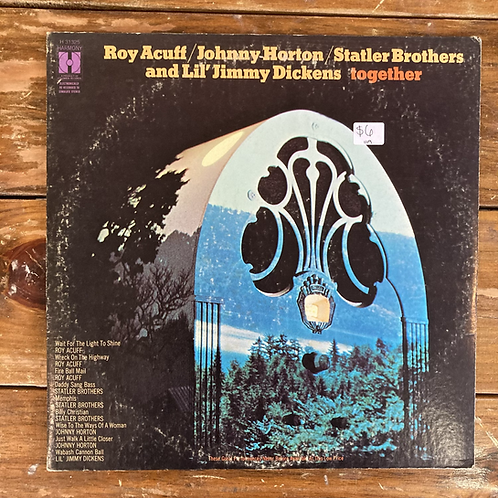 Roy Acuff, Johnny Horton, Statler Brothers, and Lil Jimmy Dickens Together USE