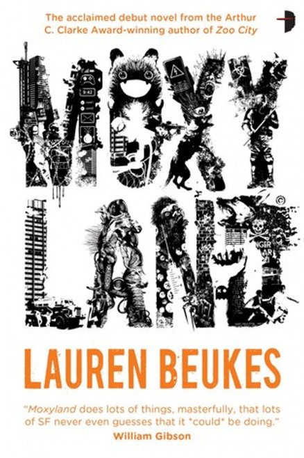 Moxyland by Lauren Beukes (used)