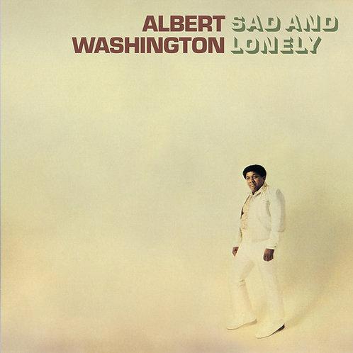 "Albert Washington, ""Sad and Lonely"""