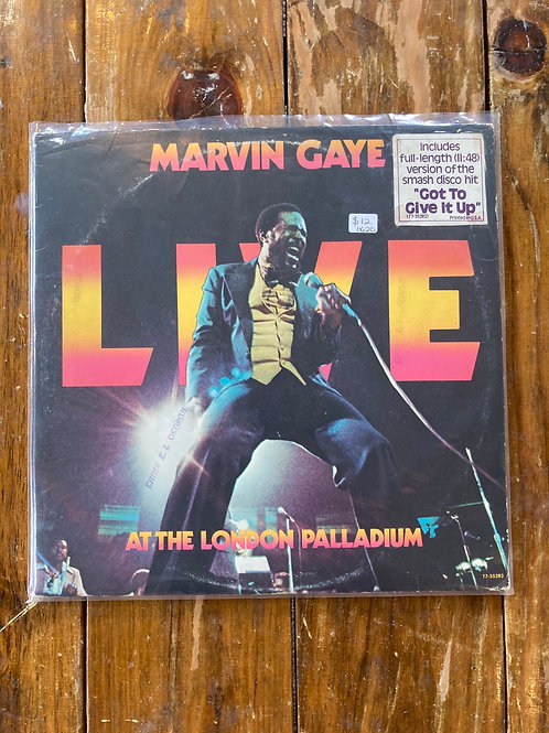 "Marvin Gaye, ""Live at the London Palladium"" USED"