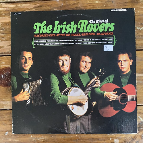 The First of the Irish Rovers: Recorded Live at the Ice House, Pasadena CA USED