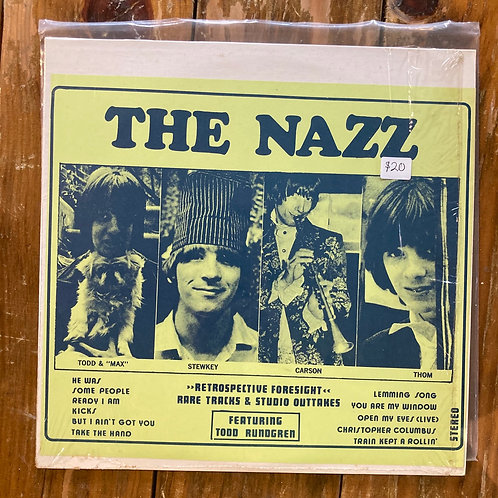 "The Nazz, ""Retrospective Foresight: Rare Tracks & Studio Outtakes"" USED"