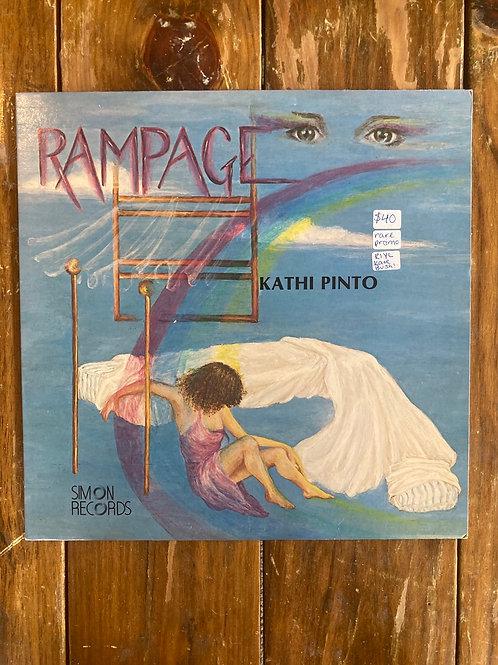"Kathi Pinto, ""Rampage"" USED Promo"