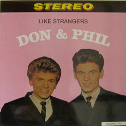 """The Everly Brothers, """"Like Strangers"""""""