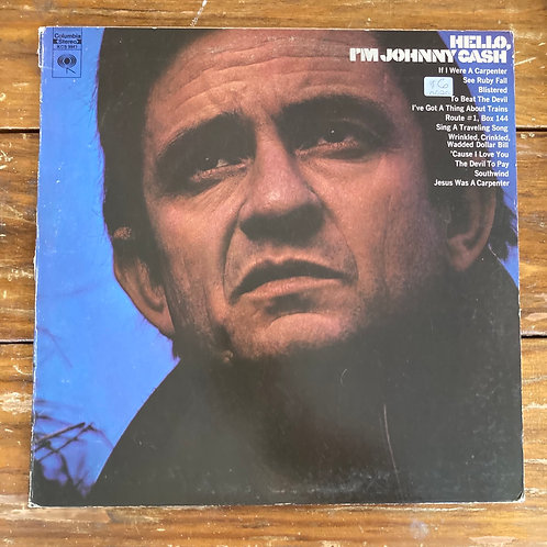 Johnny Cash, Hello I'm Johnny Cash USED