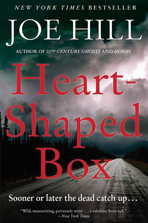 Heart-Shaped Box by Joe Hill (used)