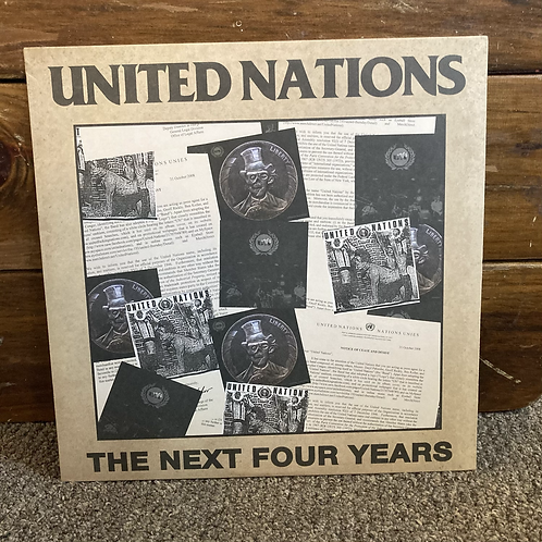 """United Nations, """"The Next Four Years"""" USED"""