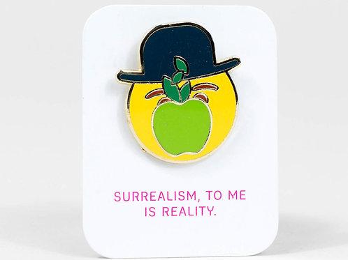 Magrittemoji Enamel Pin