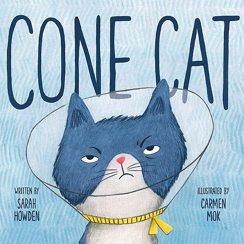 Cone Cat by Sarah Howden, illustrated by Carmen Mok