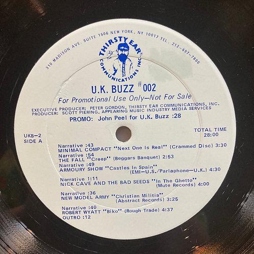 """Various, """"UK Buzz #002"""" Promo USED"""