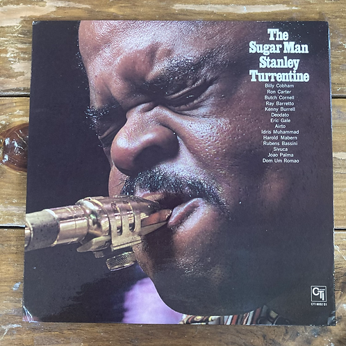 "Stanley Turrentine, ""The Sugar Man"" USED"